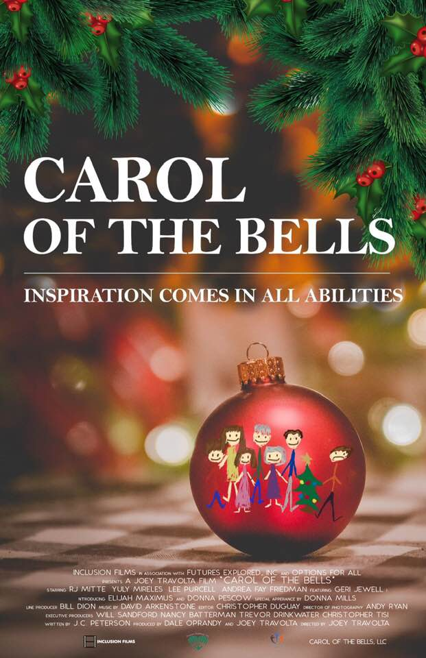 Carol of the Bells is a delightful holiday story, starring Andrea Friedman, R.J. Mitte, Lee Purcell, Donna Mills, and Donna Pescow.
